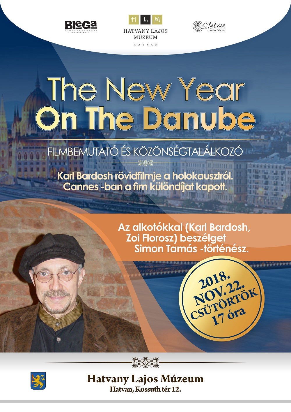 the new year on the danube